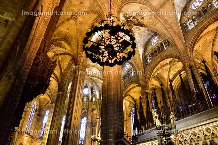 サンタ・エウラリア大聖堂、バルセロナ、スペインの販売画像
