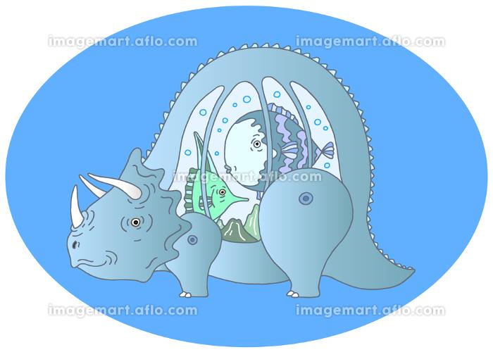 トリケラトプスの販売画像