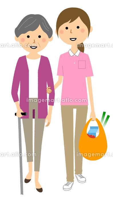 外出介助 買い物同行の販売画像
