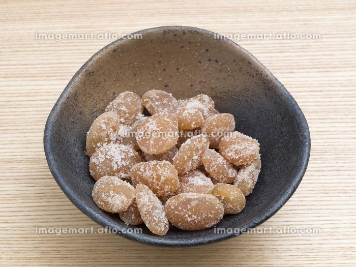 白花豆の甘納豆の販売画像