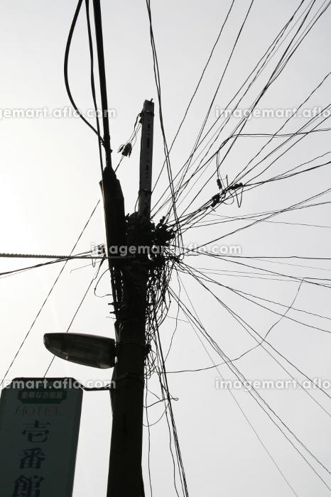 電柱,電線の販売画像