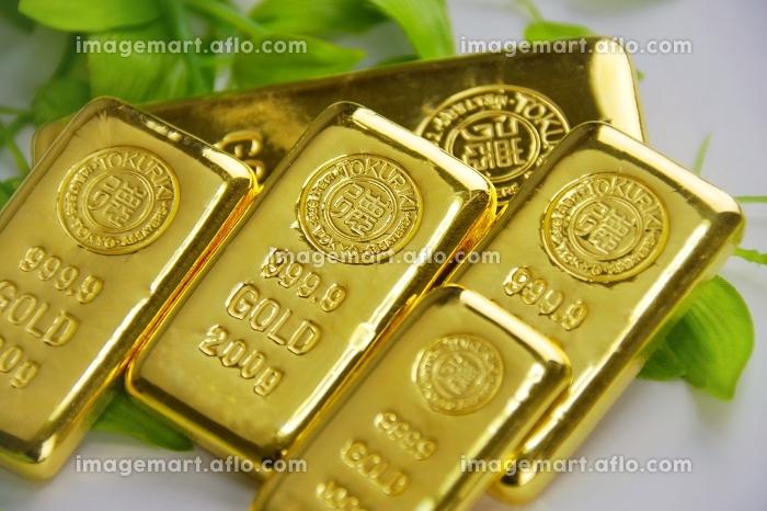 純金 金の延べ棒の販売画像