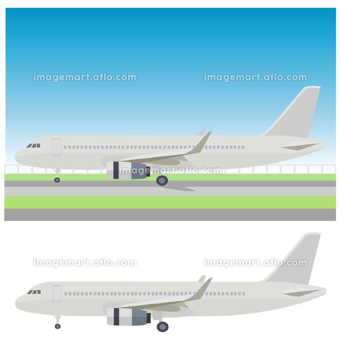 イラスト素材 飛行機 ジェット機 航空機 アイコン ベクターの販売画像