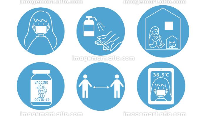 新型コロナウィルス対策セットの販売画像