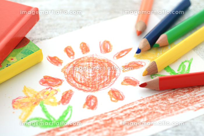 色鉛筆を使ったお絵かきで子供の才能を伸ばすの販売画像