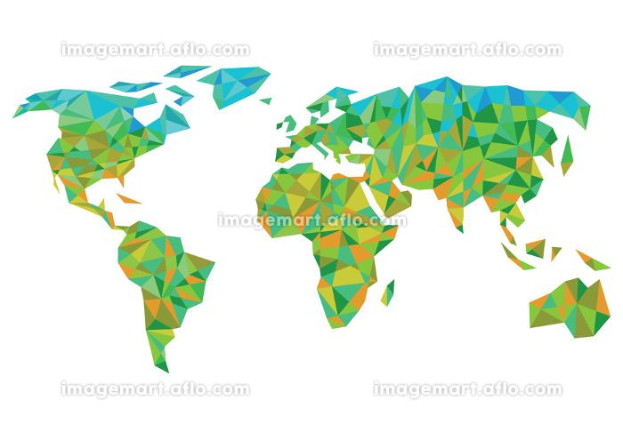 colored world mapの販売画像