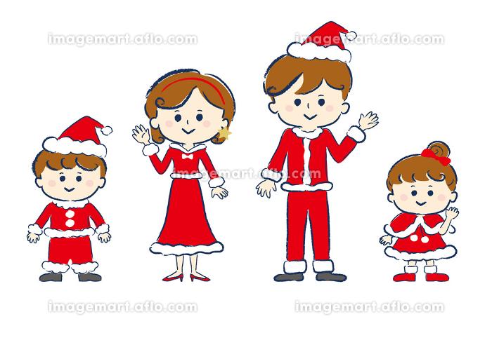 ファミリー、家族、笑顔、人物、クリスマス、ライフスタイル・生活、生活の販売画像