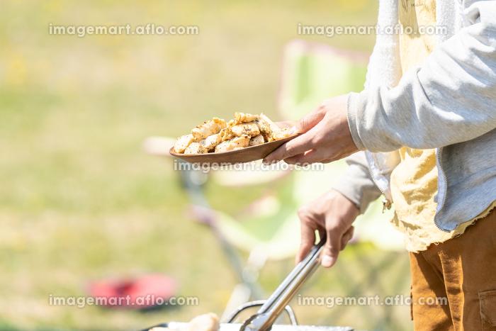 バーベキュー BBQ 食事の販売画像