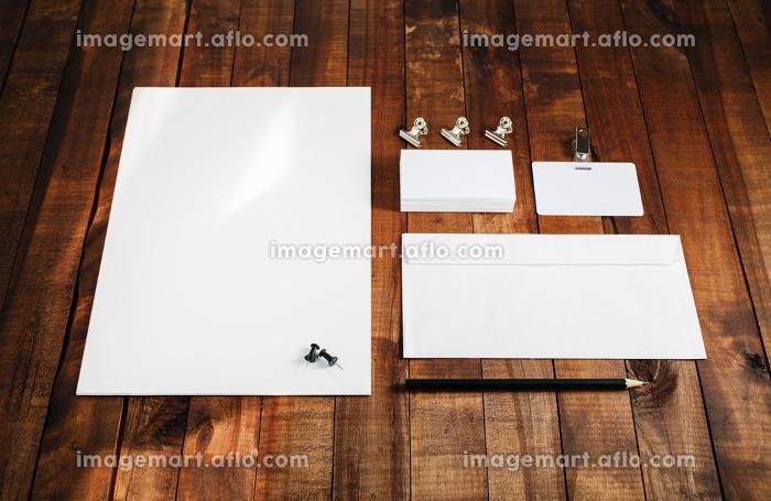 Blank stationery templateの販売画像