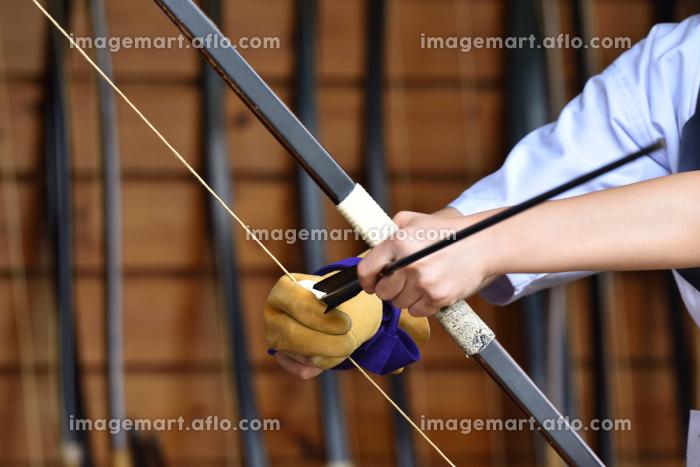 弓道、集中の販売画像