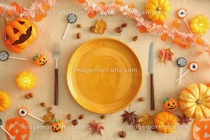 ハロウィンのかぼちゃの販売画像