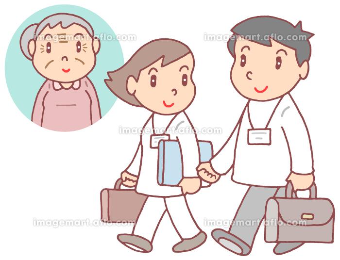 訪問医療・訪問看護の販売画像