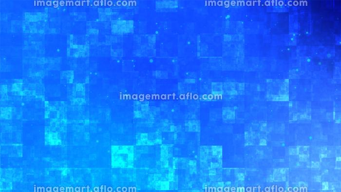 青色のアブストラクトな背景イラストの販売画像