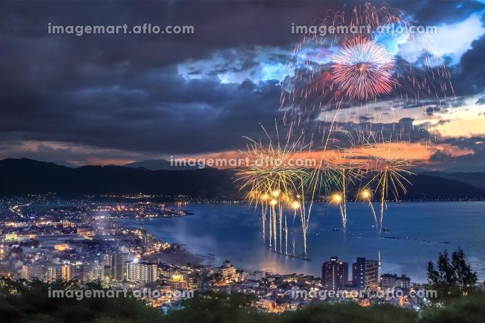 長野県・諏訪湖祭湖上花火大会 2015の販売画像