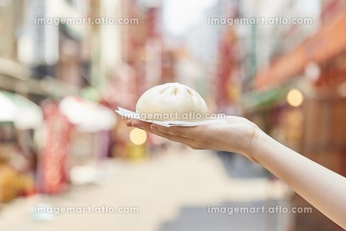 肉まんと中華街の販売画像