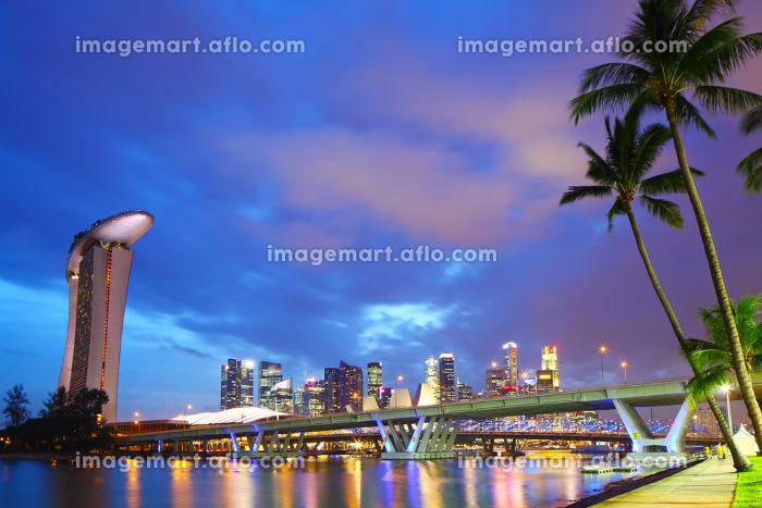 Singapore city skylineの販売画像