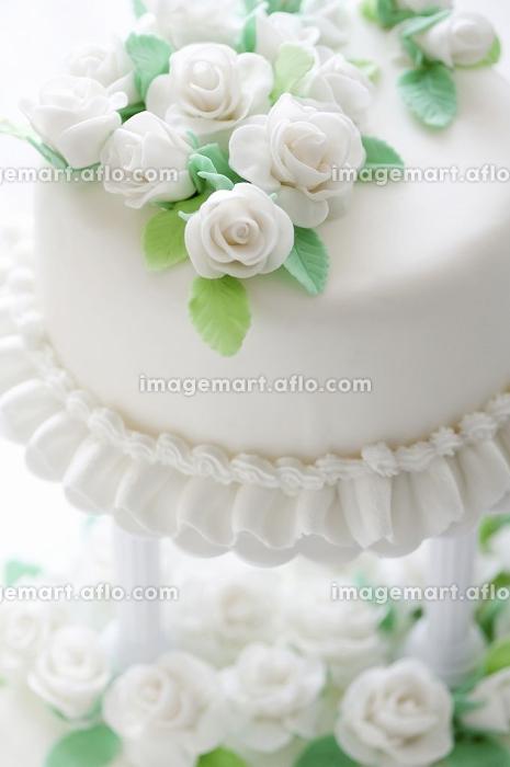 ウェディングケーキの販売画像