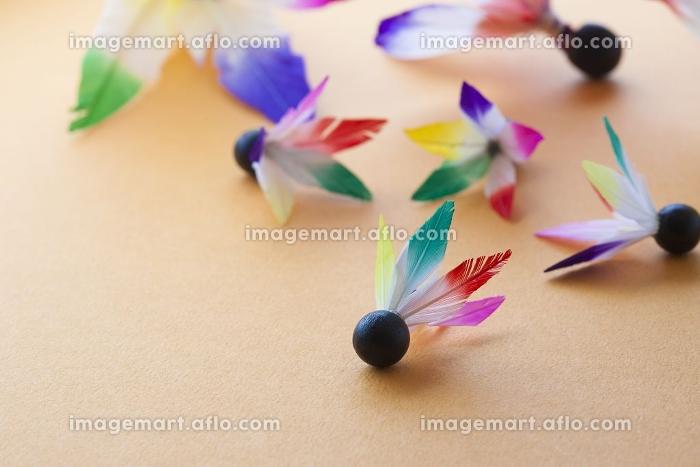 羽子板の羽根の販売画像