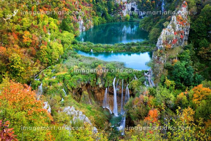 クロアチア 湖 水の販売画像