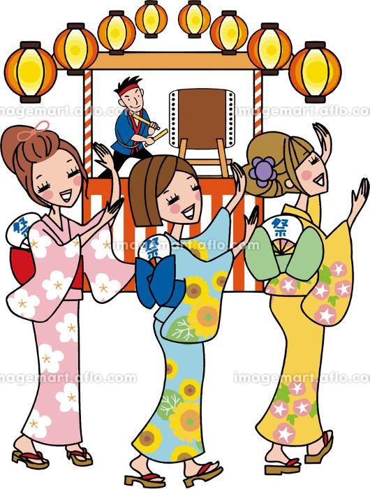 夏祭り 盆踊りの販売画像
