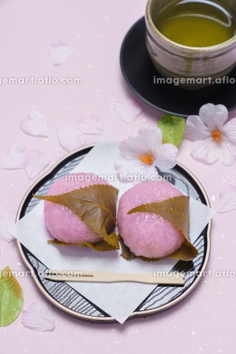 和菓子 桜餅の販売画像