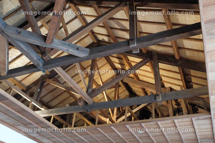 木造建屋の天井構造の販売画像