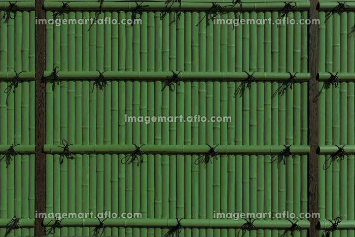 緑色の竹垣 3309gの販売画像