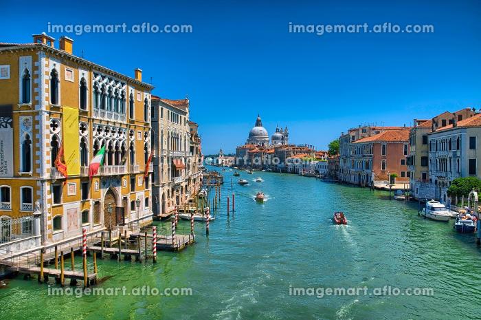 Gorgeous view of the Grand Canal and Basilica Santa Maria dellaの販売画像