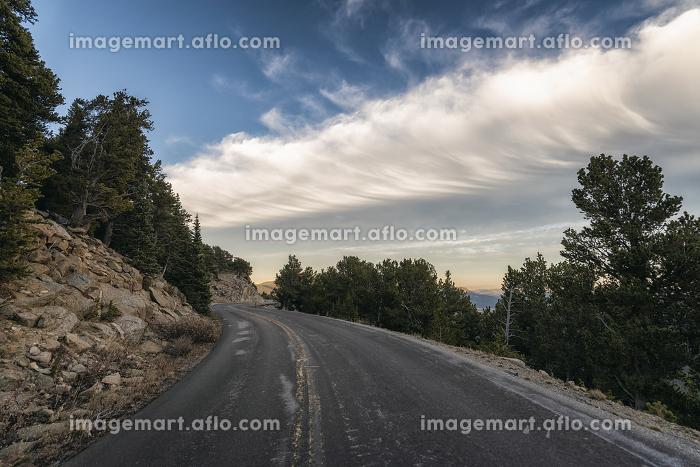 Mount Evans Road near Denver, Colorado